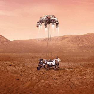 Mars 2020 Perseverance: Od Cape Canaverala do Jezero kratera